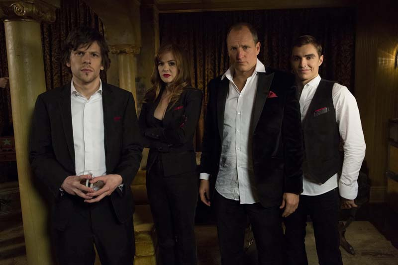 Jesse Eisenberg, Woody Harrelson, Isla Fisher