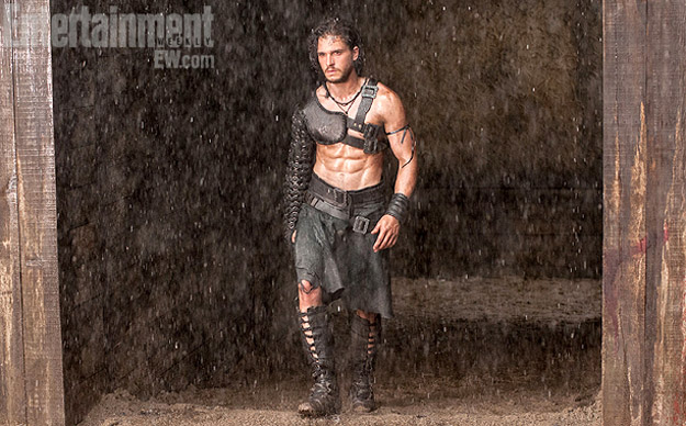 Pompeya, Kit Harington