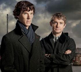 sherlock-bbc, Benedict Cumberbatch, Martin Freeman