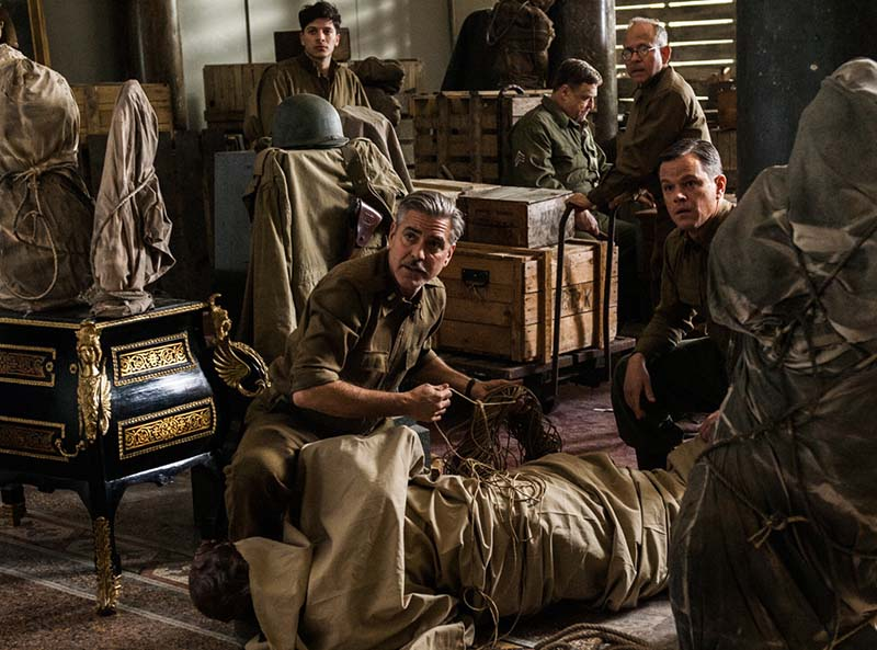 George Clooney 'The Monuments Men'