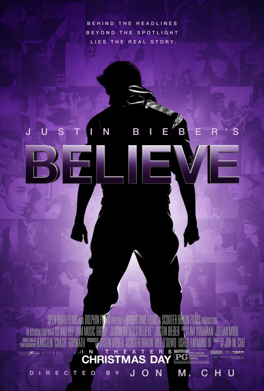 Believe De Justin Bieber (2013) [Dvdrip] [Latino] [1 Link]