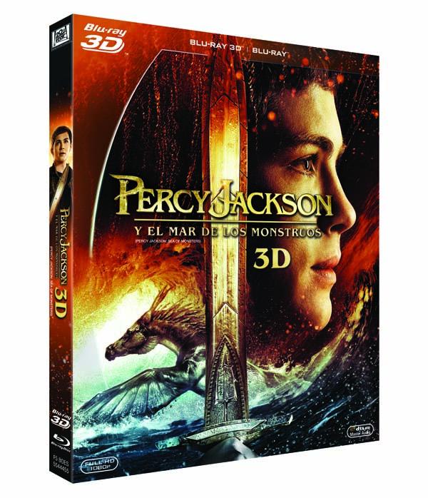 3D PERCY JACKSON BD 3D