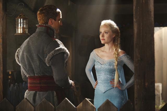 Elsa ya se deja ver por \'Erase una Vez\' | Nakatomi Cinema