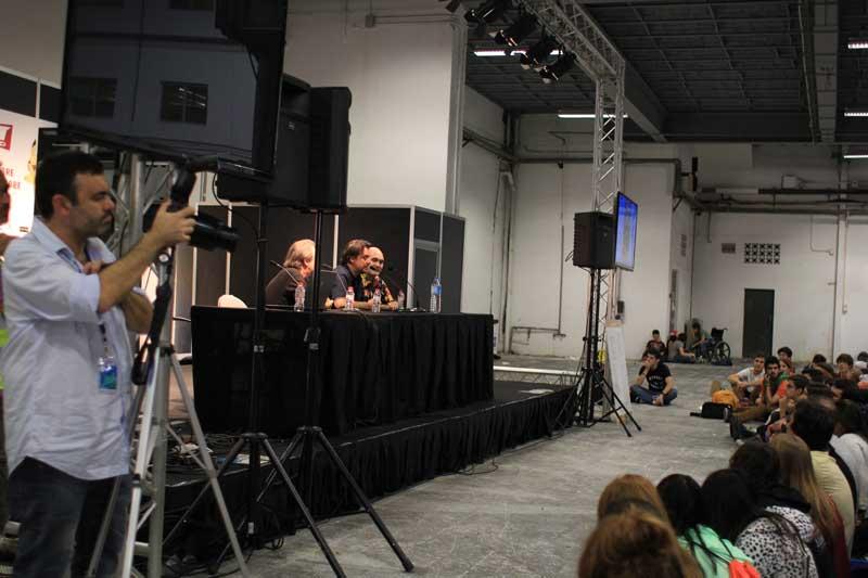Dobladores de Bola de Dragón en el XX Salón del Manga de Barcelona
