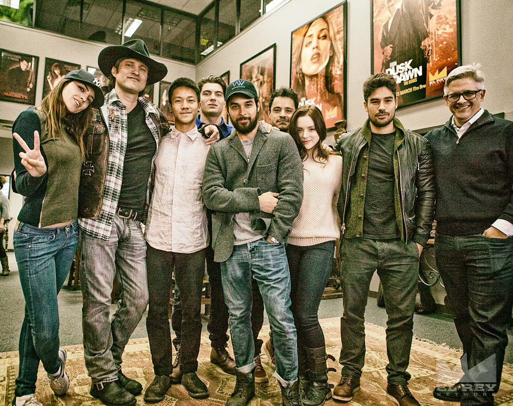 FDTD - Start of Production Cast Picture (with logo)