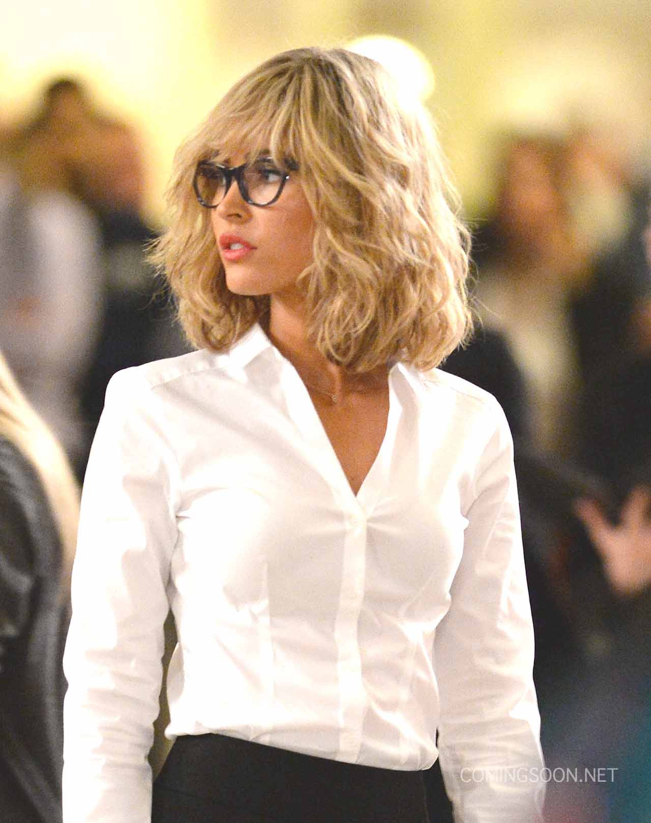 Celebrity Sightings In New York City - April 30, 2015