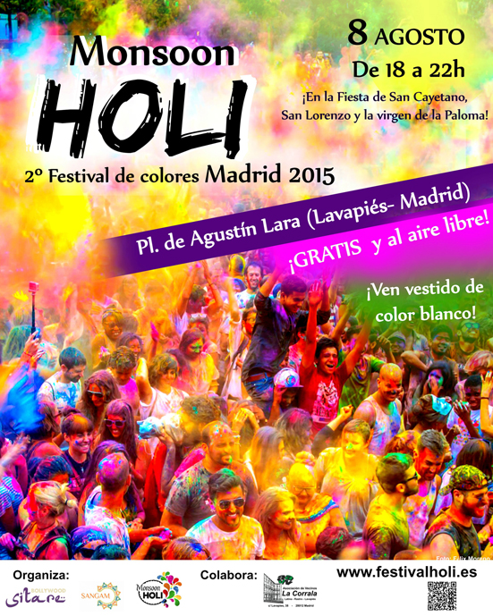 Cartel Monsoon Holi Madrid 2015_vs internet