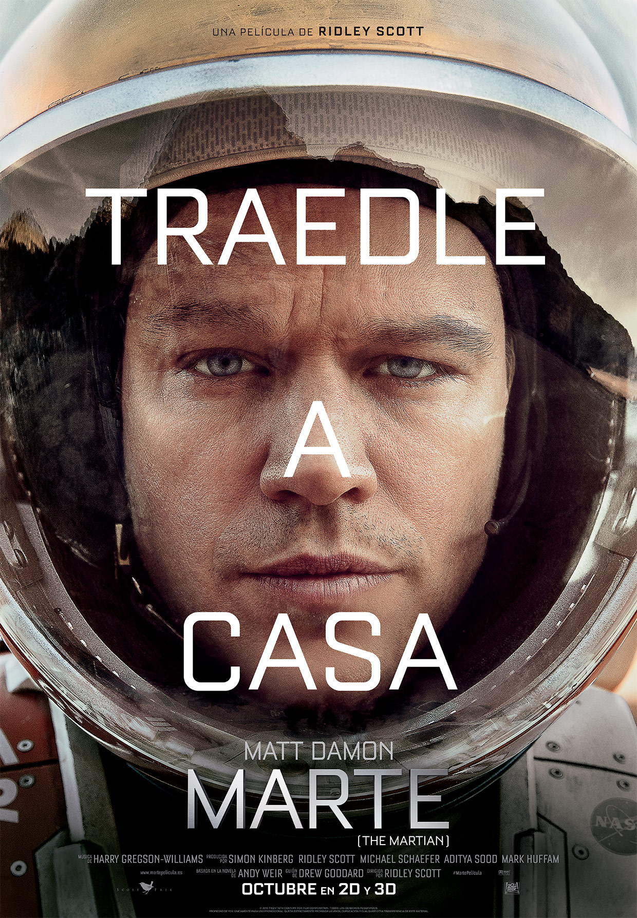 Marte (The Martian)_Poster Teaser