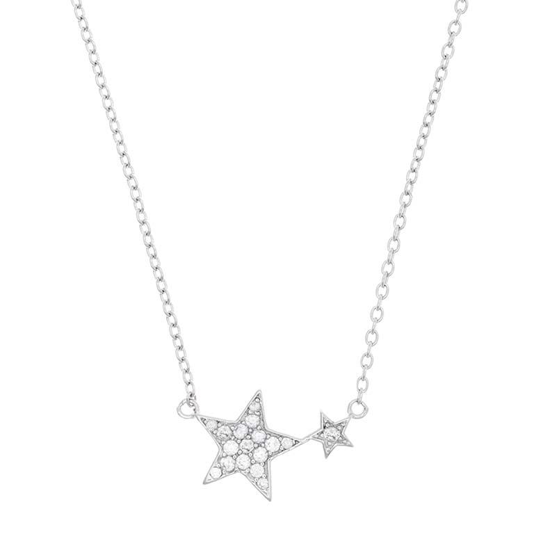 Colgante Estrella detalle en plata 925 Market Place New York