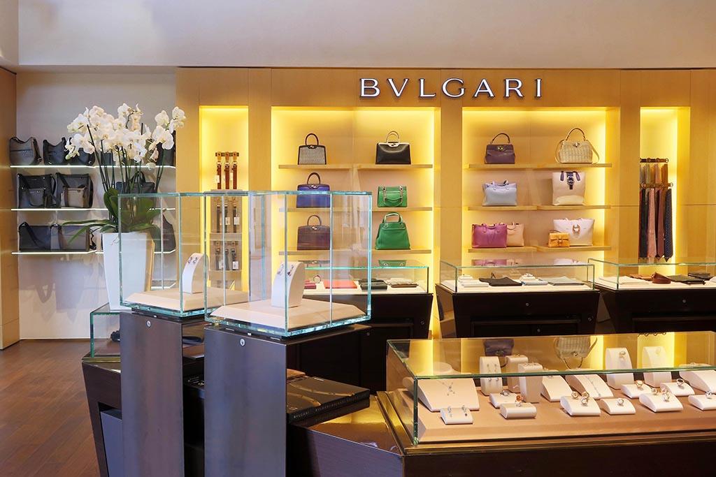 Boutique Bulgari La Roca Village - Fotógrafo Nacho Vaquero