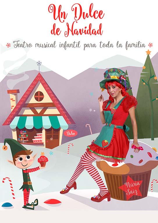 Cartel Dulce de Navidad