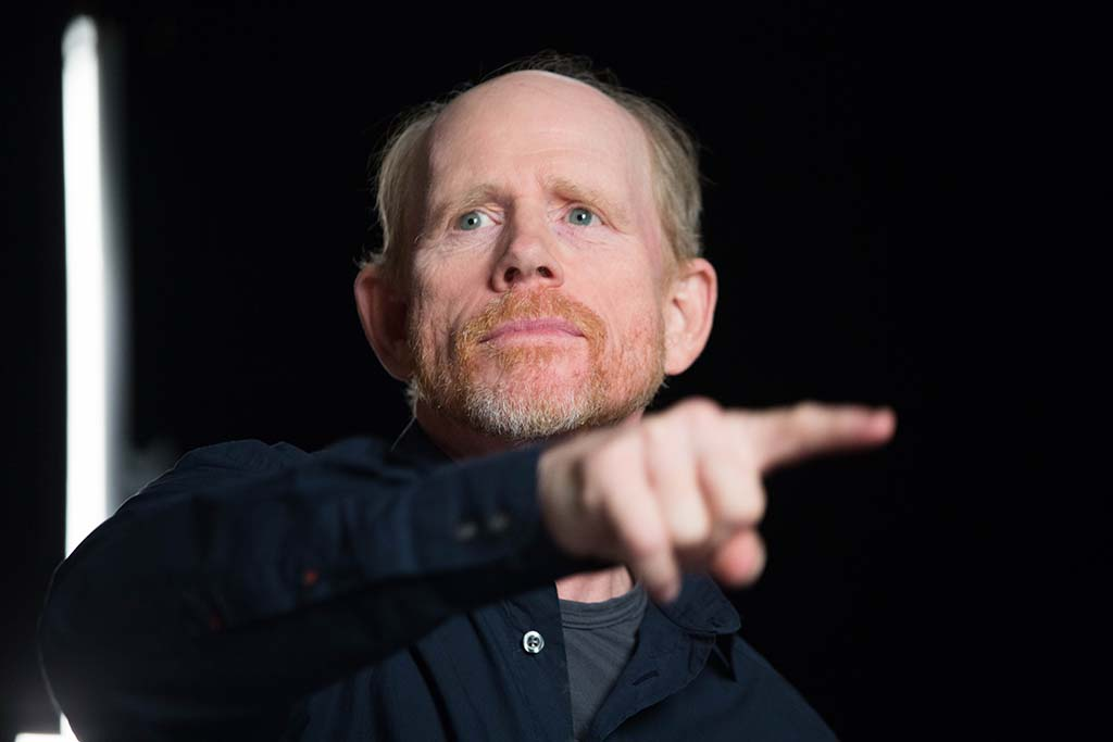 Ron Howard, director of the Age of Aging episode of Breakthrough.(photo credit: National Geographic Channels/Erin Patrice O'Brien)