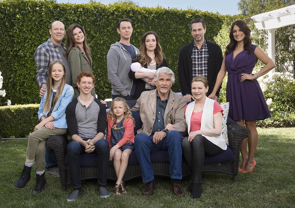 Group Shot-- Pilot Mini Gallery for the CBS series LIFE IN PIECES  Photo: Cliff Lipson/CBS ©2015 CBS Broadcasting, Inc. All Rights Reserved